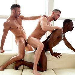 CockyBoys: Manuel Skye, Matthew Parker & River Wilson