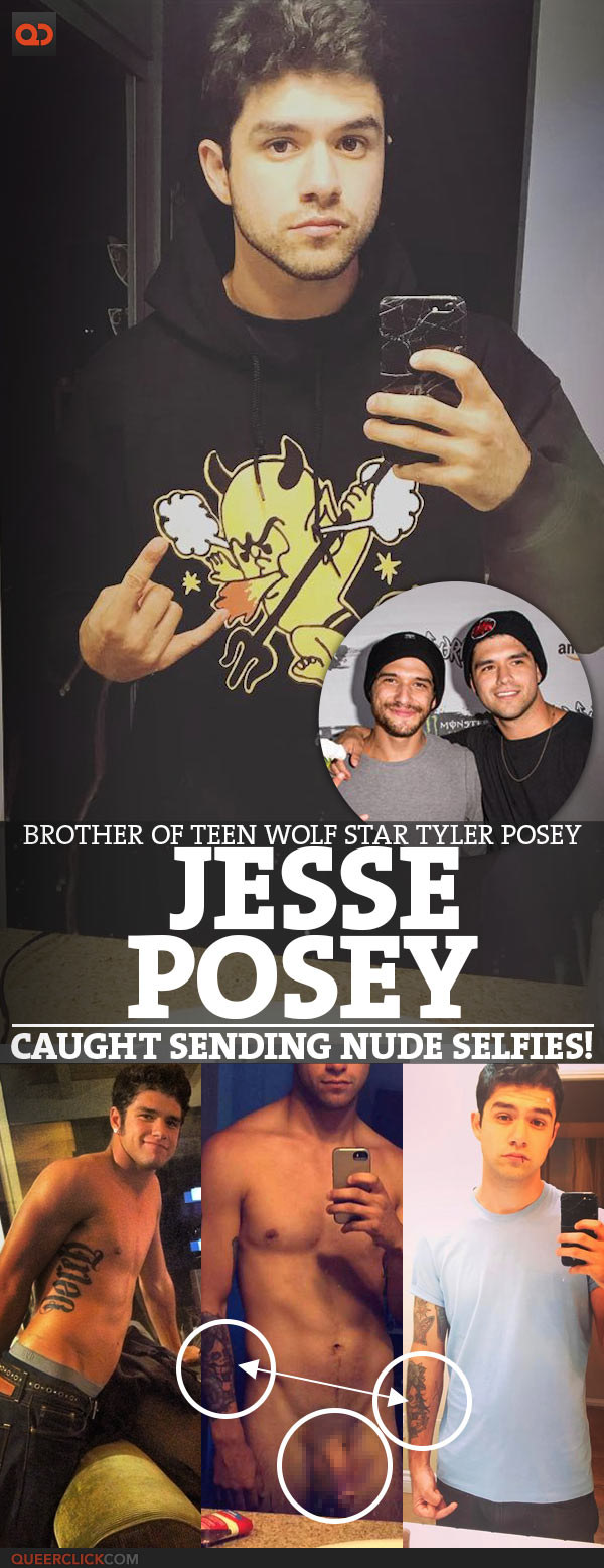 Jesse Posey, Brother Of Teen Wolf Star Tyler Posey, Caught Sending