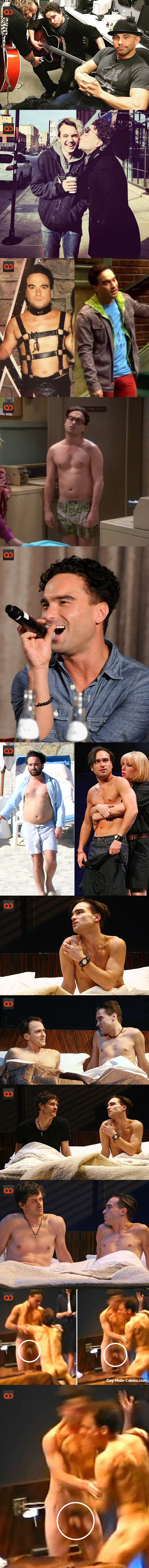 Johnny Galecki, Star Of The Big Bang Theory, Naked On The Stage In His Gay-Themed Broadway Play!