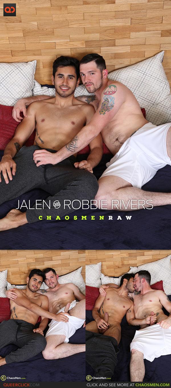 ChaosMen: Jalen and Robbie Rivers Flip Fuck - Bareback