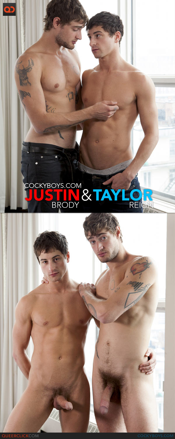TAYLOR REIGN BOTTOMS FOR JUSTIN BRODY GAY VIDEO