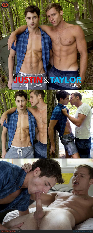 CockyBoys: Justin Matthews Fucks Taylor Reign