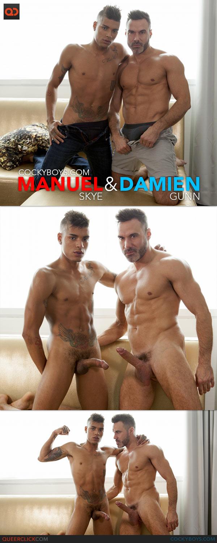 CockyBoys: Manuel Skye Fucks Damien Gunn