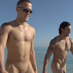 Island Studs: Football Nude – Austin and Eyal