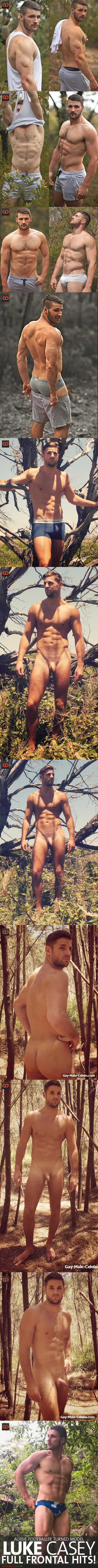 Luke Casey, Aussie Footballer Turned Model, Full Frontal Hits!