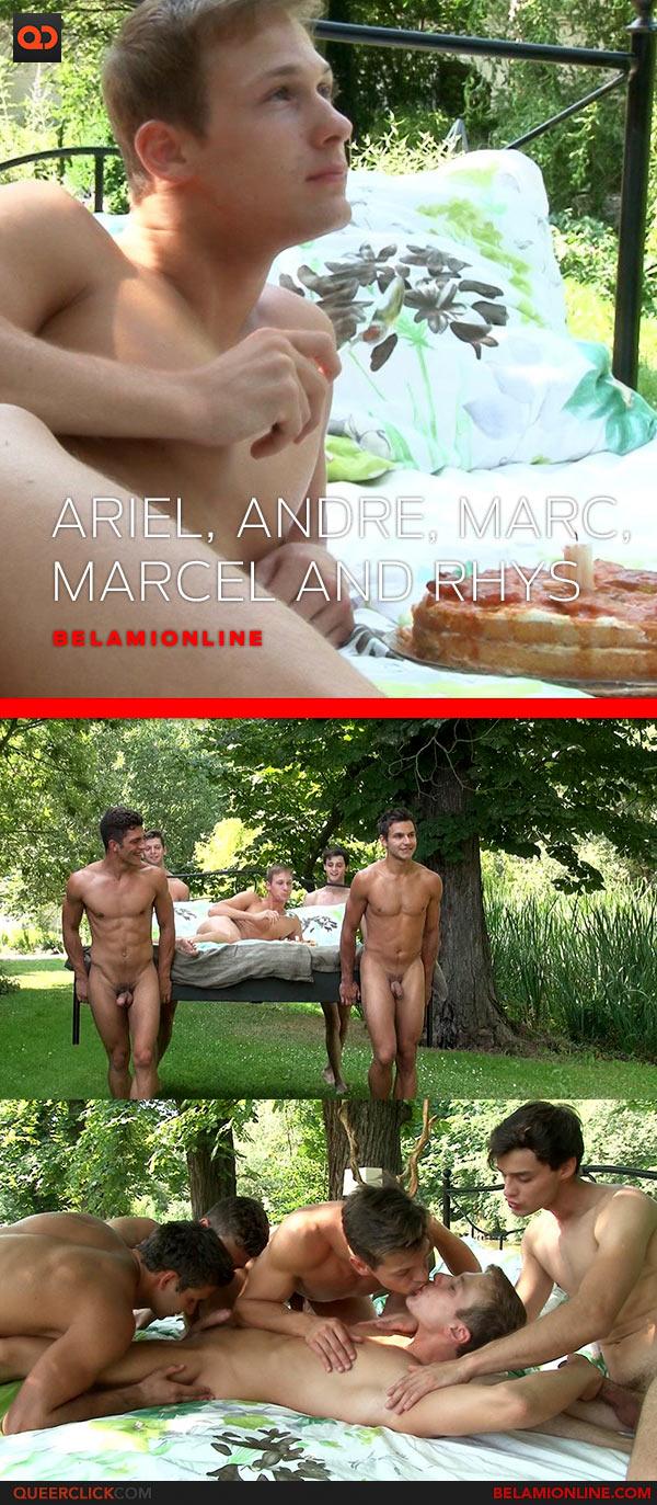 Bel Ami Online: Ariel Vanean, Andre Boleyn, Marc Ruffalo, Rhys Jagger and Marcel Gassion