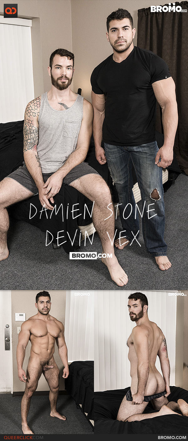 Bromo: Damien Stone Fucks Devin Vex - Bareback