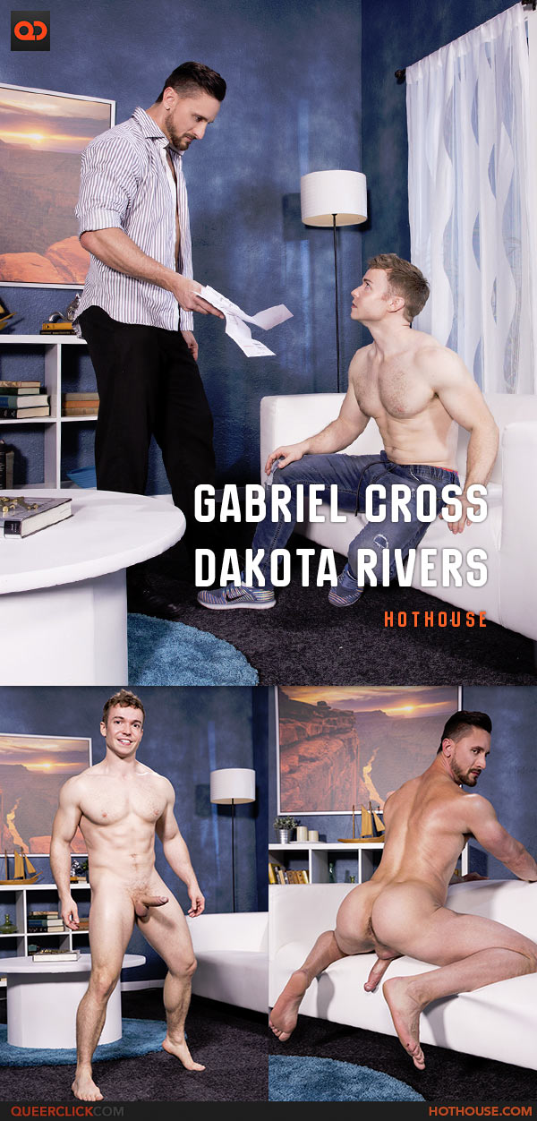 Hot House: Dakota Rivers Fucks Gabriel Cross