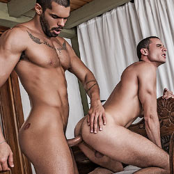 Lucas Entertainment: Javi Velaro and Lucas Fox Flip Fuck – Bareback