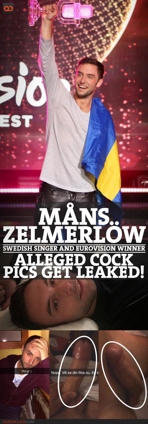 Måns Zelmerlöw, Swedish Singer And EuroVision Winner, Alleged Cock Pic Get Leaked!