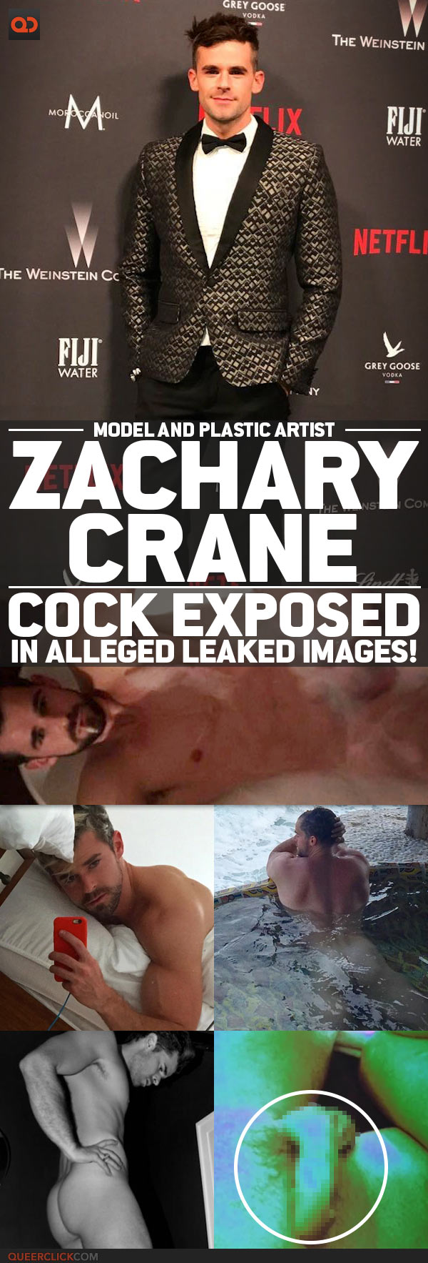 Zachary Crane, Model And Plastic Artist, Cock Exposed In Alleged Leaked Snap!