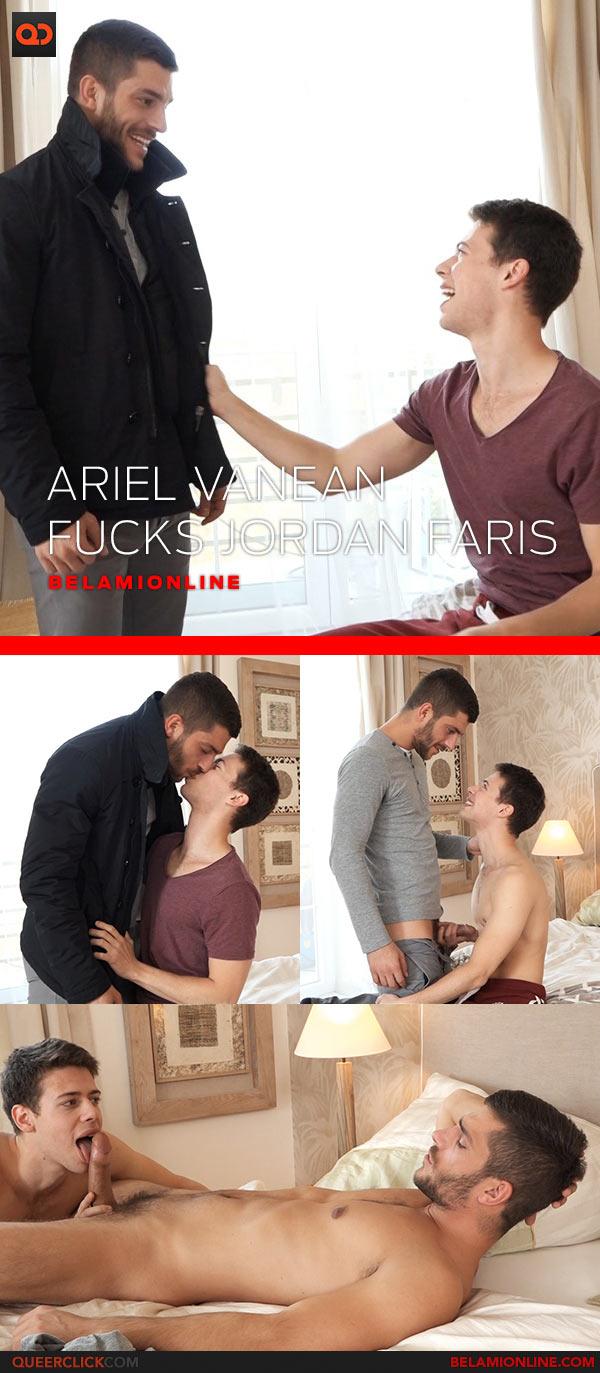 Bel Ami Online: Ariel Vanean Fucks Jordan Faris - Bareback