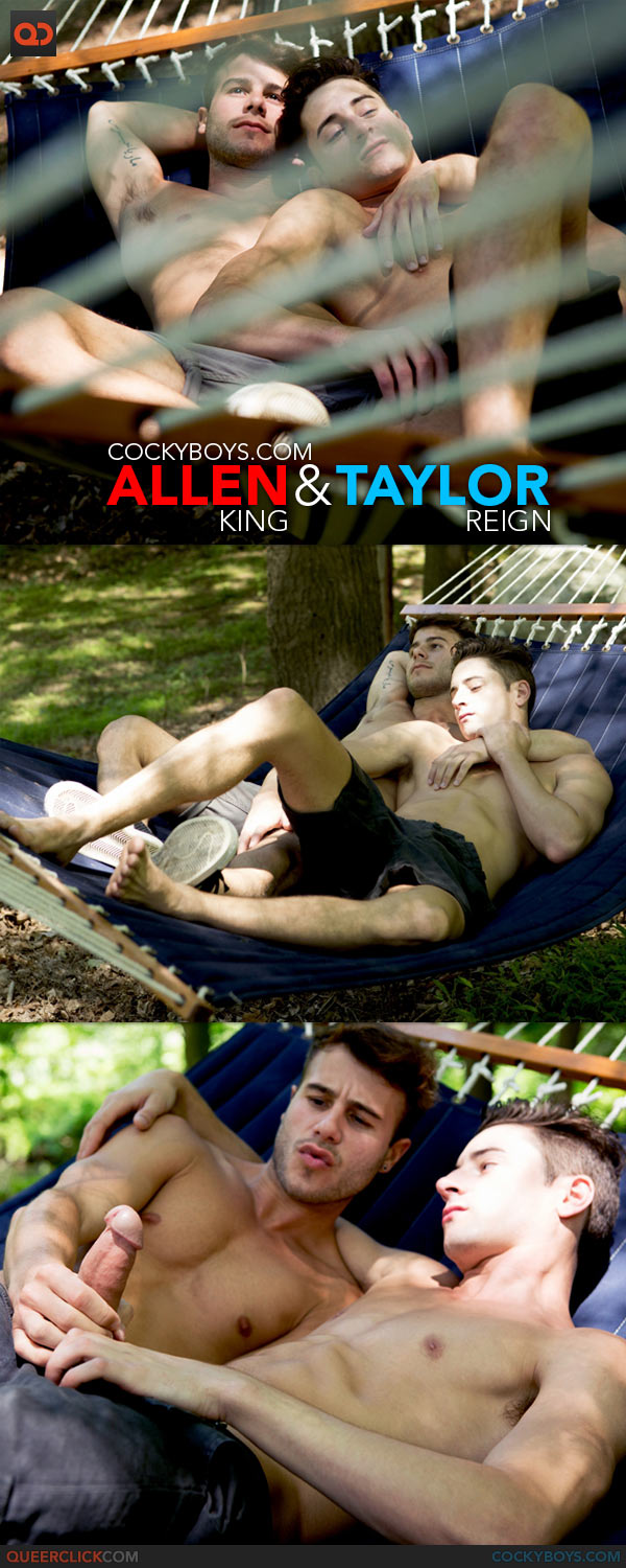 CockyBoys: Outdoor Romance with Allen King & Taylor Reign