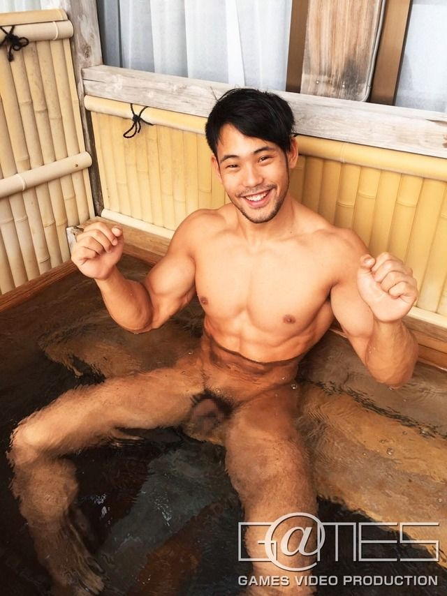 japan male naked in sauna