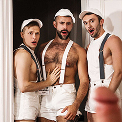 Men.com:  Beau Reed | Ethan Chase | Teddy Torres | William Sawyer