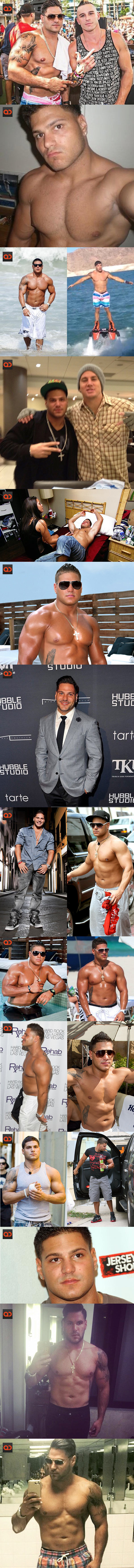 Ronnie Ortiz-Magro, From MTV'S Jersey Shore, Alleged Video Of His Cock Surfaces!