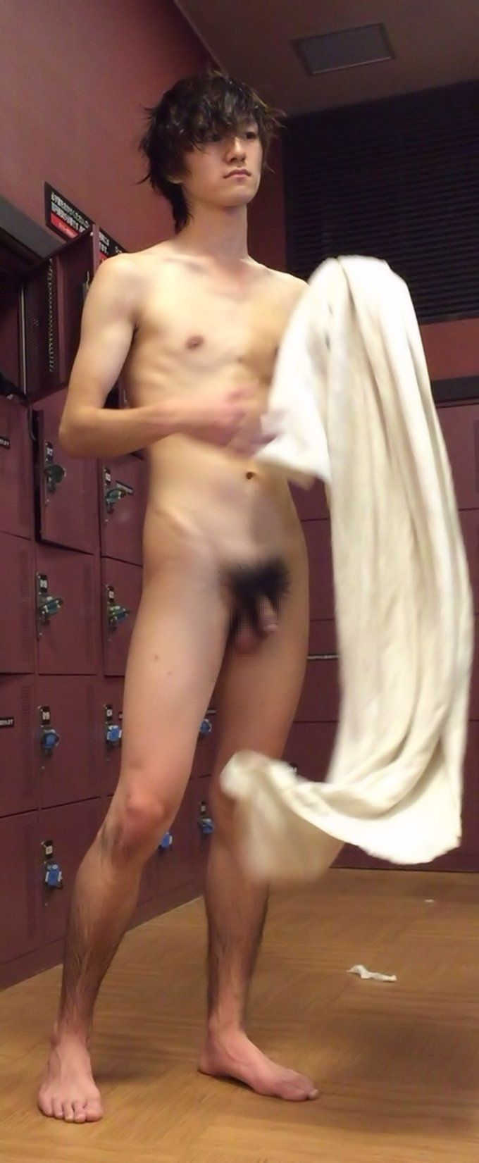 Young guys in locker room gay sex movies