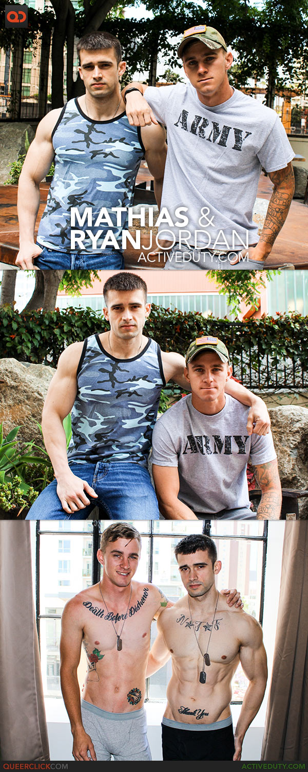 Active Duty: Mathias & Ryan Jordan