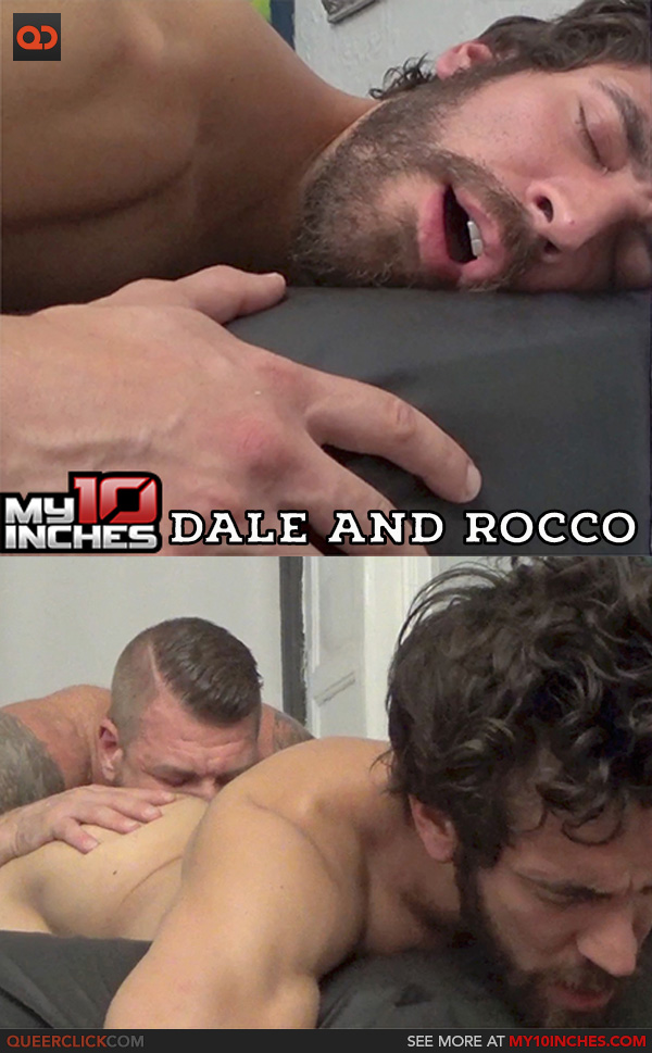 image My 10 inches rocco steele and tony axel