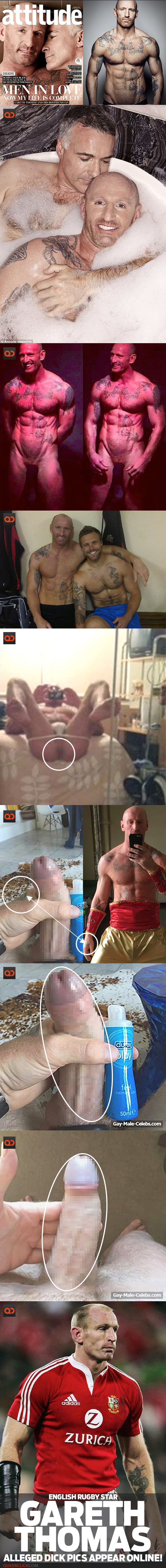 Gareth Thomas, English Rugby Star, Alleged Dick Pics Appear Online!