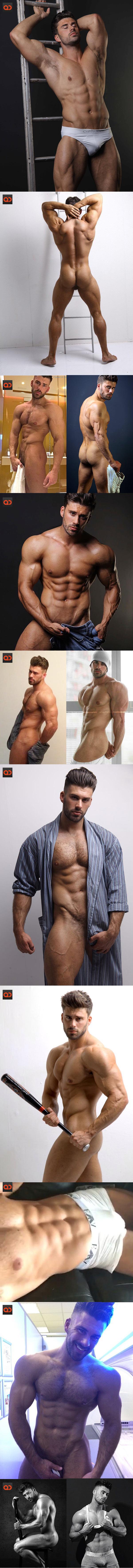 Liam Jolley, Fitness Model And Instagram Star, Alleged Skype Jerk Off Leaks!