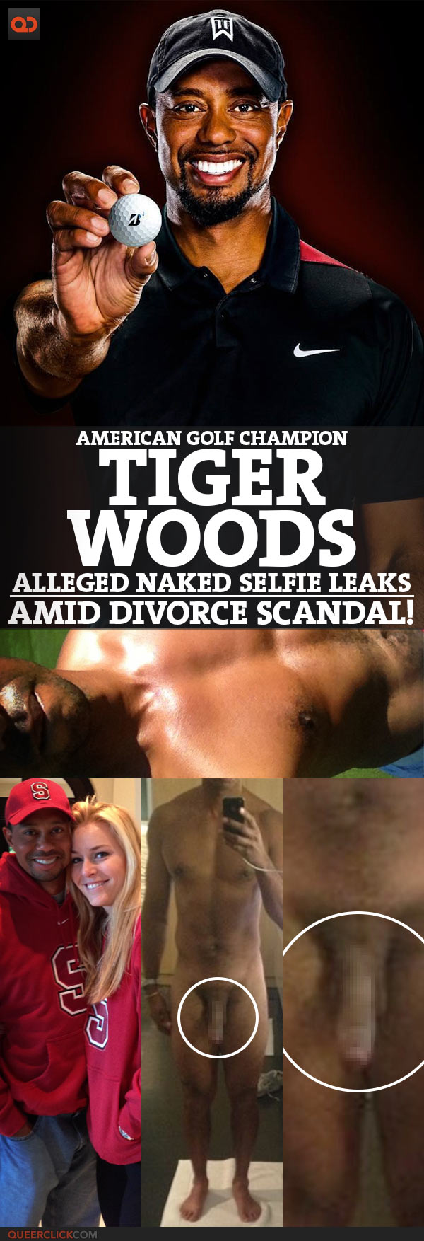 Tiger Woods, American Golf Champion, Alleged Naked Selfie Leaks Amid Divorce Scandal!
