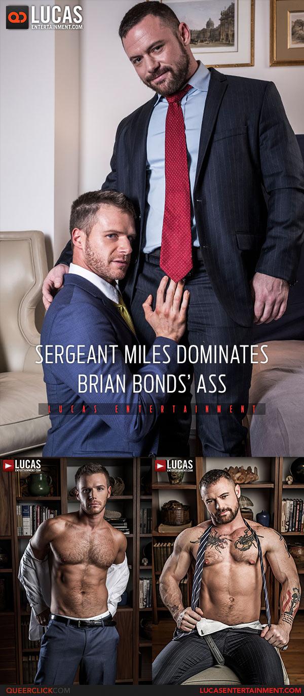 Lucas Entertainment: Sergeant Miles Fucks Brian Bonds - Bareback