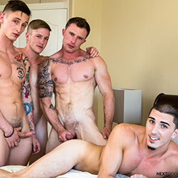Next Door Studios:  Markie More, Lance Ford, Chris Blades and Damien Kyle