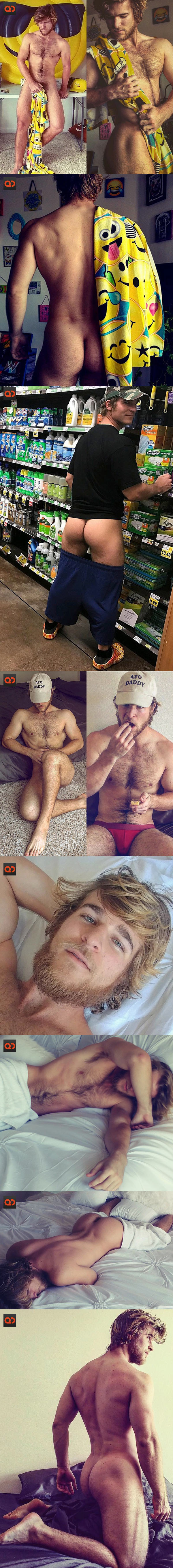 "QC Crush: Alex Cypriano - Model And The Self-Proclaimed ""Hairiest Man On Instagram!"""