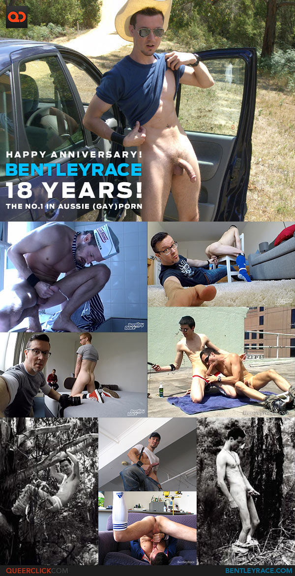 Bentley Race: Happy Anniversary! 18 Years of Aussie Gay Porn