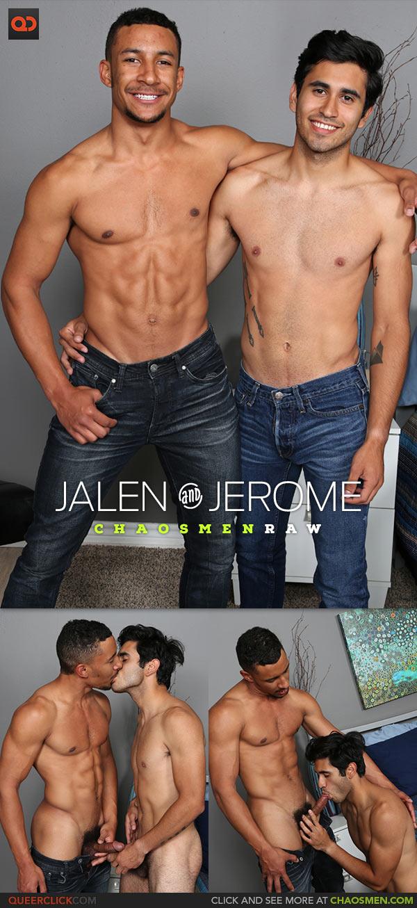 ChaosMen: Jalen and Jerome Flip Fuck Bareback