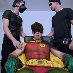 Colby Knox: The Adventures of Batman and Robin with Colby Chambers, Christian Bay and Mickey Knox
