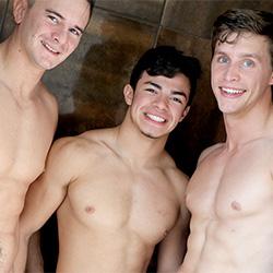 Gayhoopla: Julian Rodriguez, Zach Douglas And Adrian Monroe