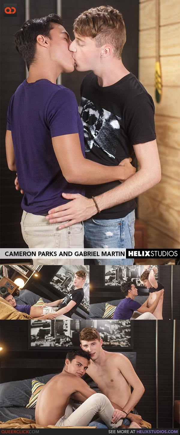 Helix Studios:  Cameron Parks and Gabriel Martin