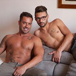 Lucas Kazan: Alex Magnum and Leonardo Ricci
