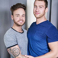 Men.com:  Connor Maguire and Max Wilde