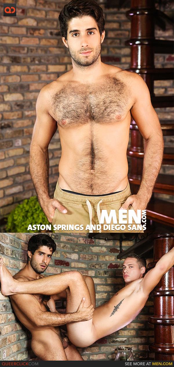 Men.com:  Aston Springs and Diego Sans