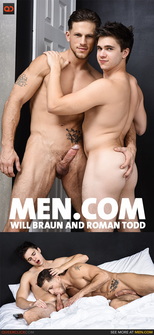 Men.com: Will Braun and Roman Todd