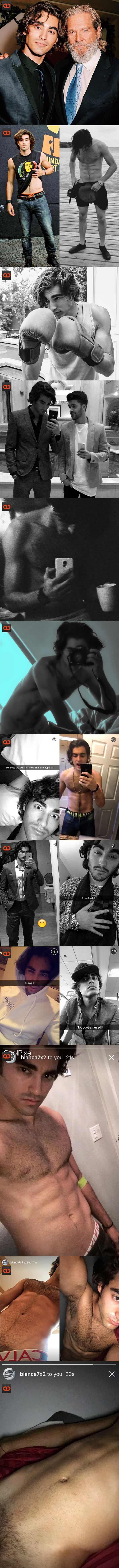 Blake Michael, Disney Actor And True Blood Star, Cock Exposed In Alleged Snapchat Photos!