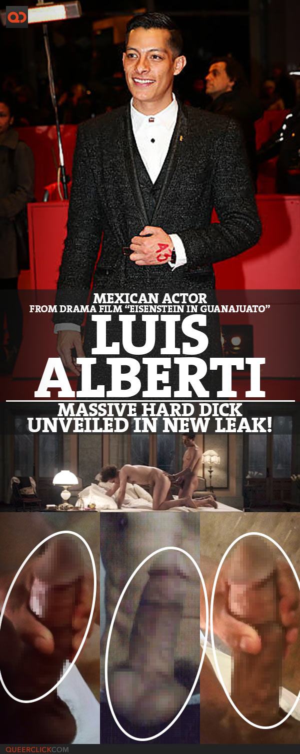 "Luis Alberti, Mexican Actor From Drama Film ""Eisenstein In Guanajuato"", Massive Hard Dick Unveiled In New Leak!"