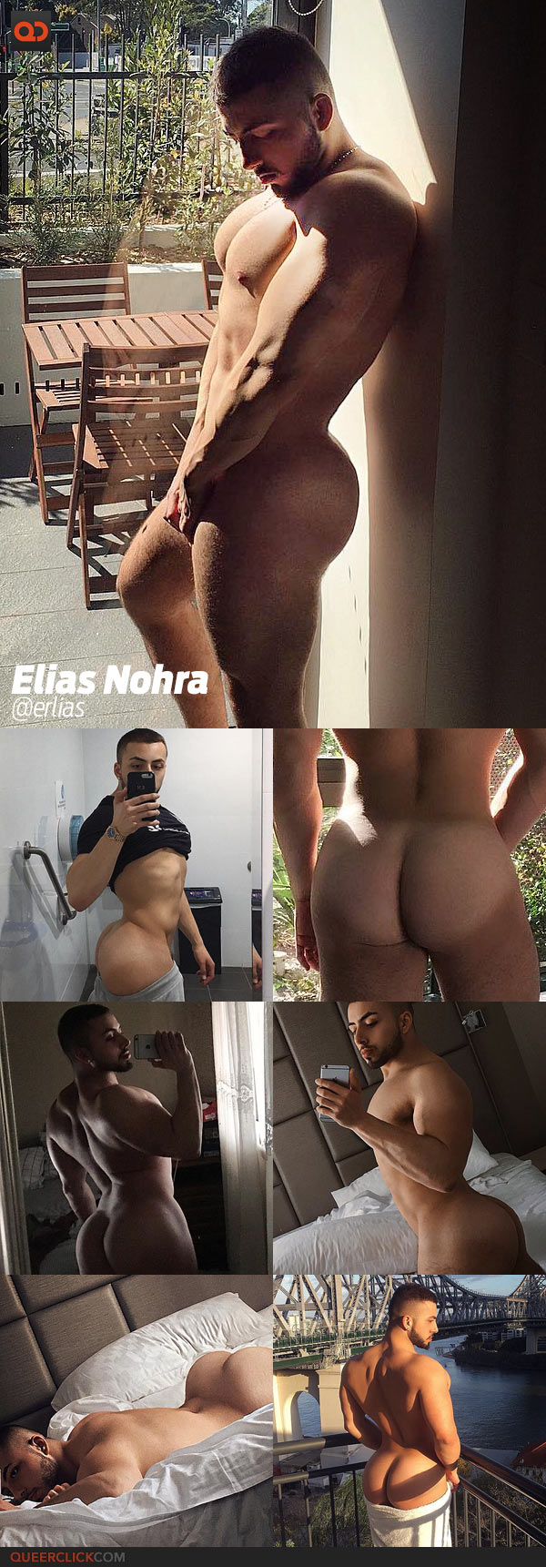 Elias Nohra Nude nine bootylicious guys you need to follow on instagram