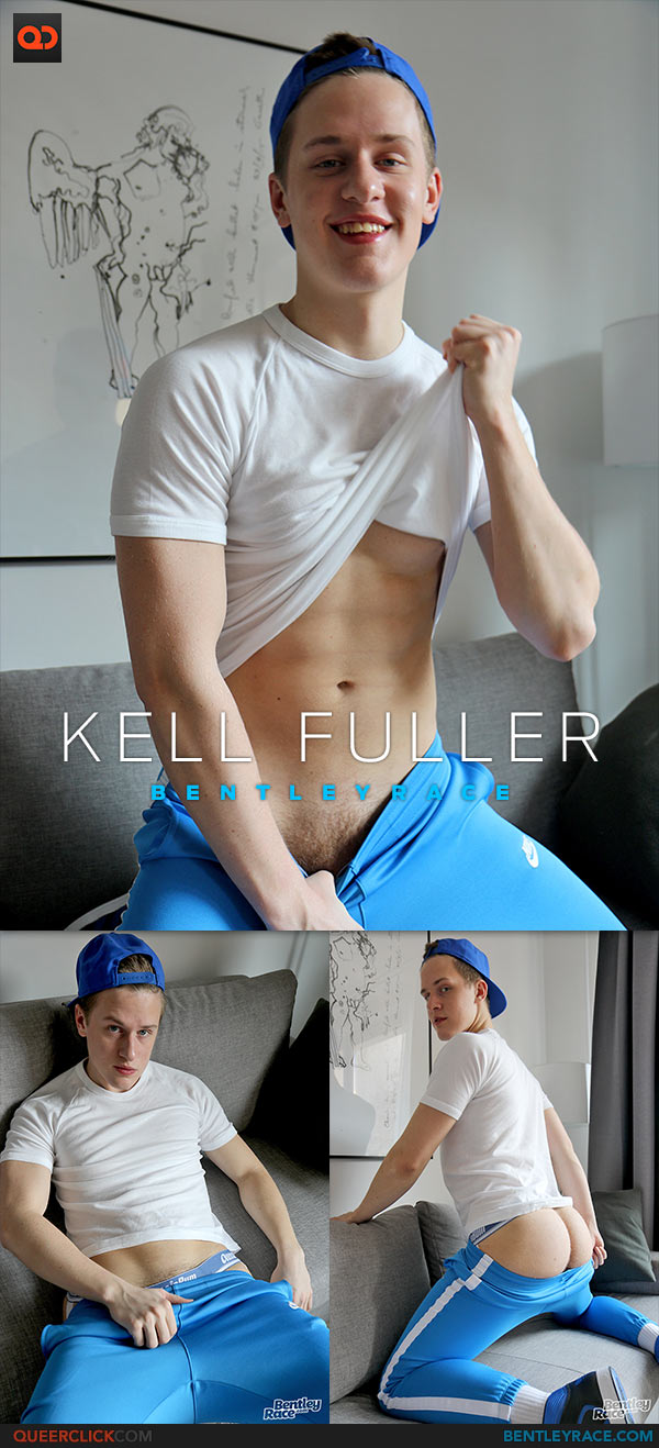 Bentley Race: Kell Fuller Stripping in the Studio