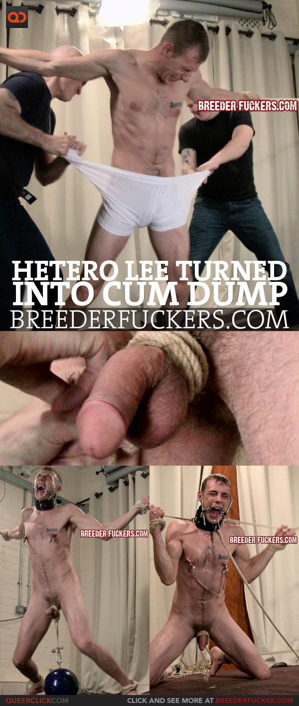 Hetero Lee Turned Into Cum Dump At BreederFuckers!