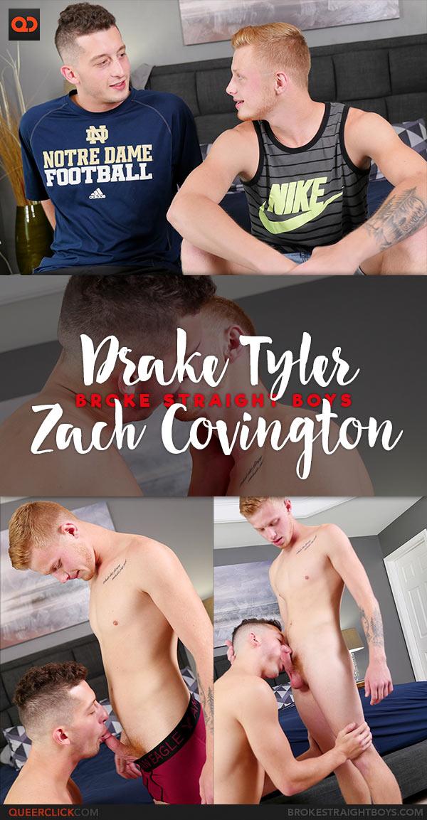 Broke Straight Boys: Drake Tyler Fucks Zach Covington Bareback