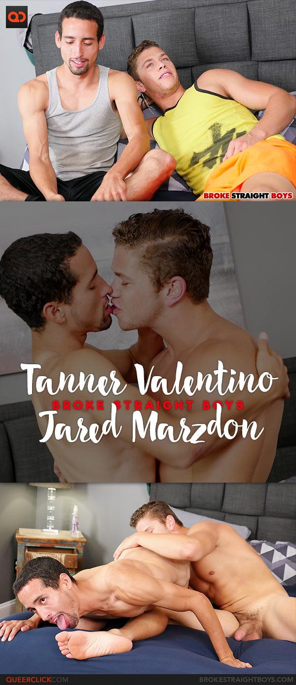 Broke Straight Boys: Tanner Valentino Fucks Jared Marzdon Bareback