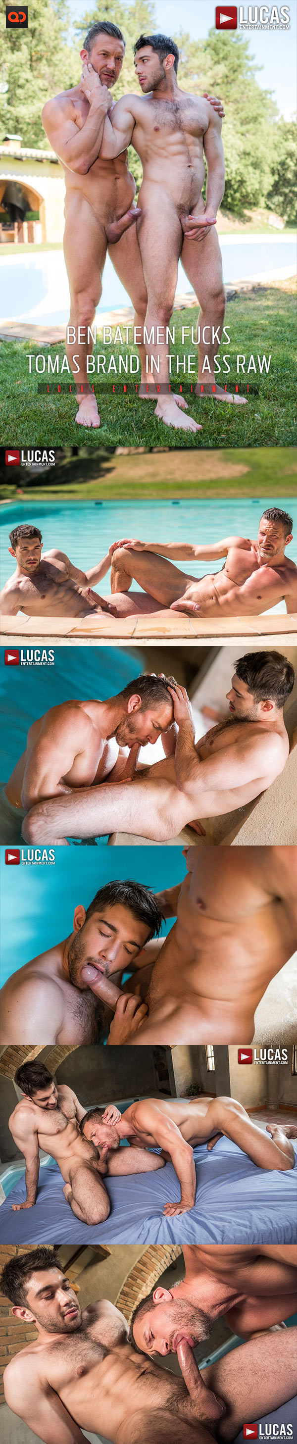 Lucas Entertainment: Tomas Brand and Ben Batemen Flip Fuck Bareback