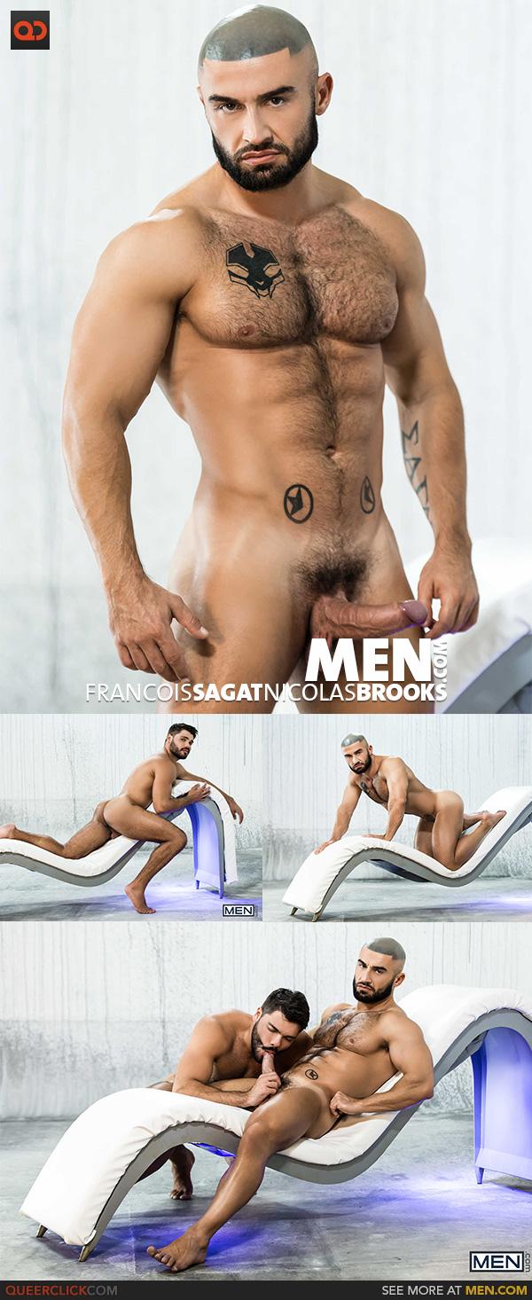 Men.com:  Francois Sagat and Nicolas Brooks