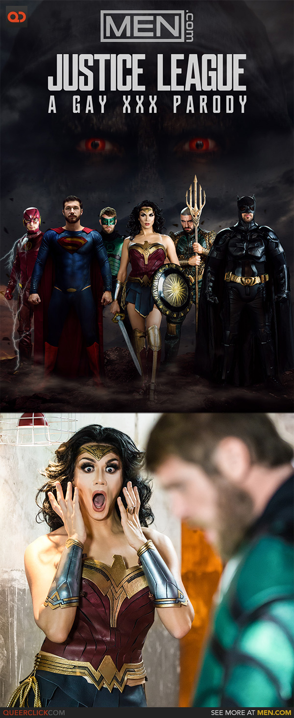 Men.com – Justice League: A Gay XXX Parody