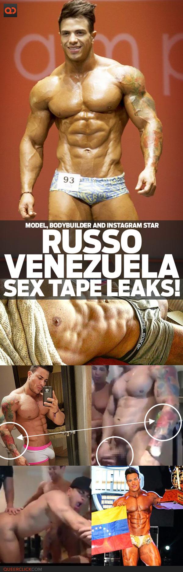 Russo Venezuela, Model, Bodybuilder And Instagram Star, Sex Tape Leaks!