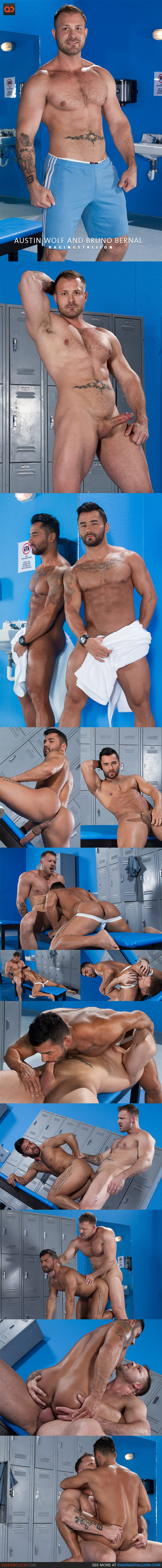 Raging Stallion: Austin Wolf and Bruno Bernal